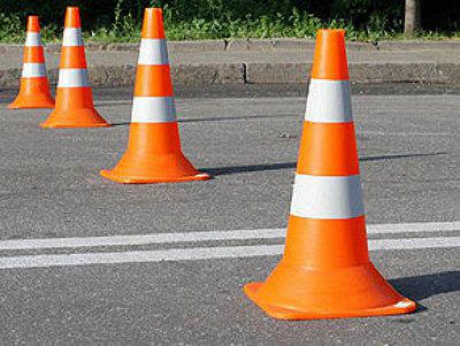 Дорожные знаки оградительные конусы
