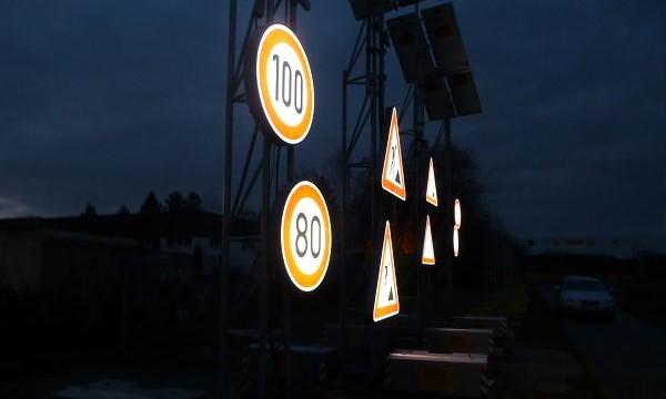 флуоресцентные дорожные знаки курск