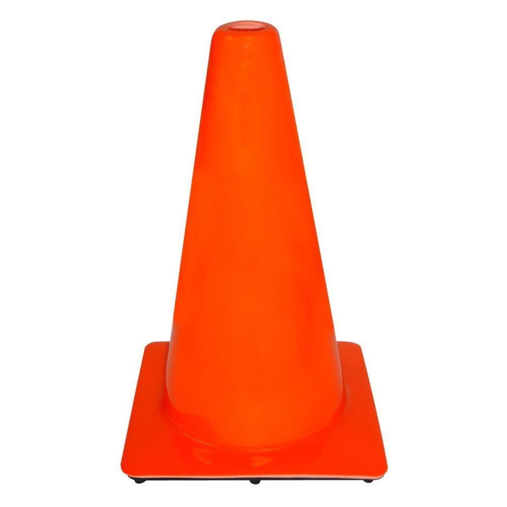 пластиковые дорожные столбики оранжевый конус